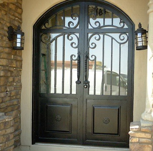 Wrought Iron Doors Prices