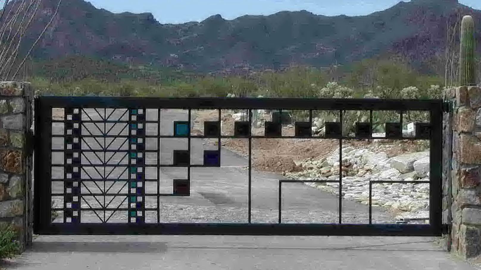 Wrought Iron Doors Tucson