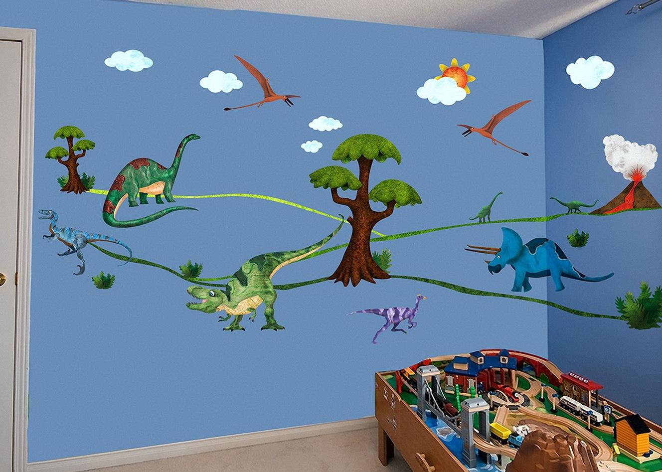 3d Dinosaur Wall Art