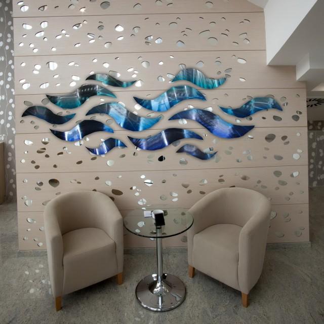 Abstract Metal Wall Art Australia