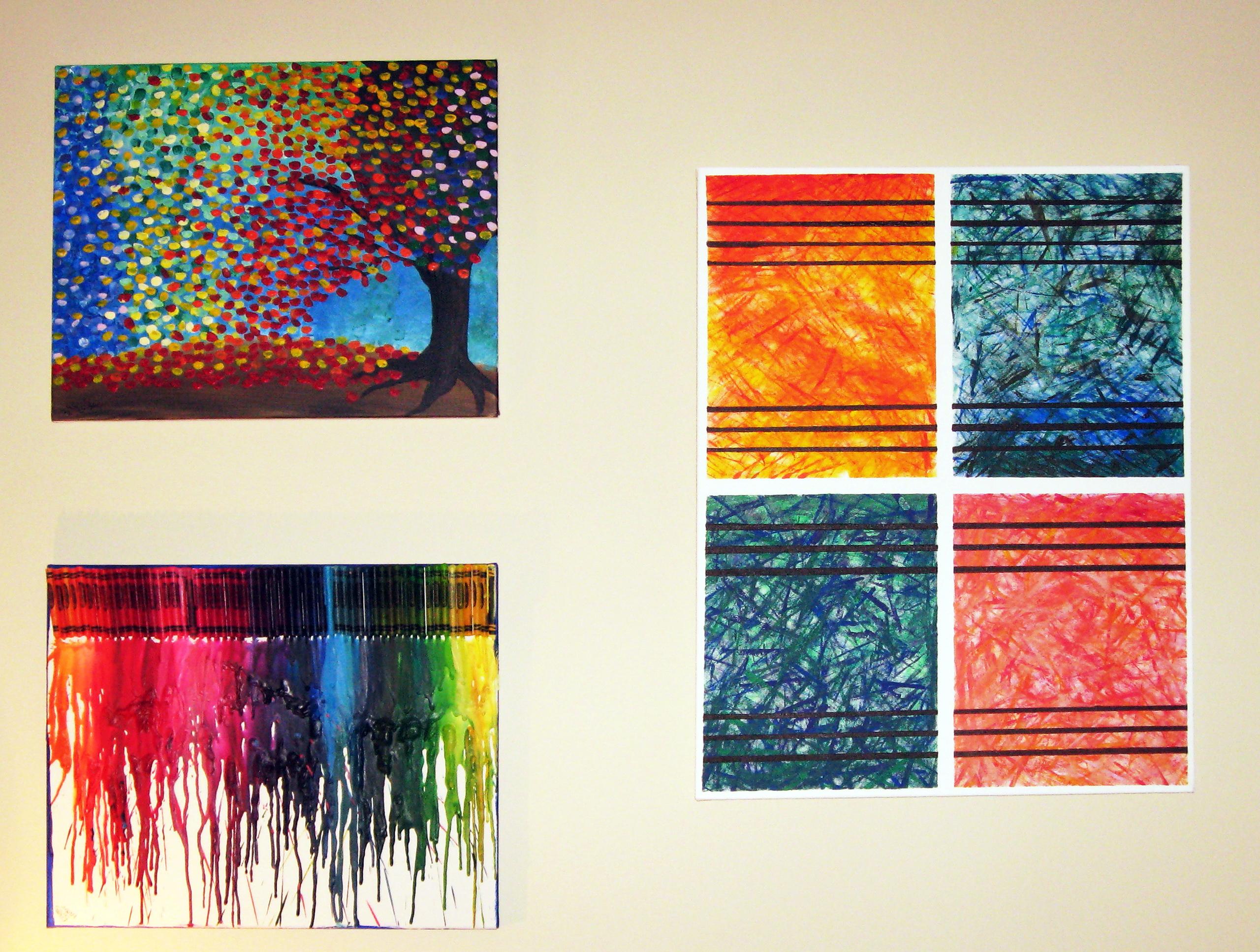 Abstract Wall Art Diy