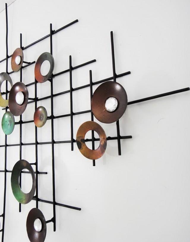 Abstract Wall Art Metal