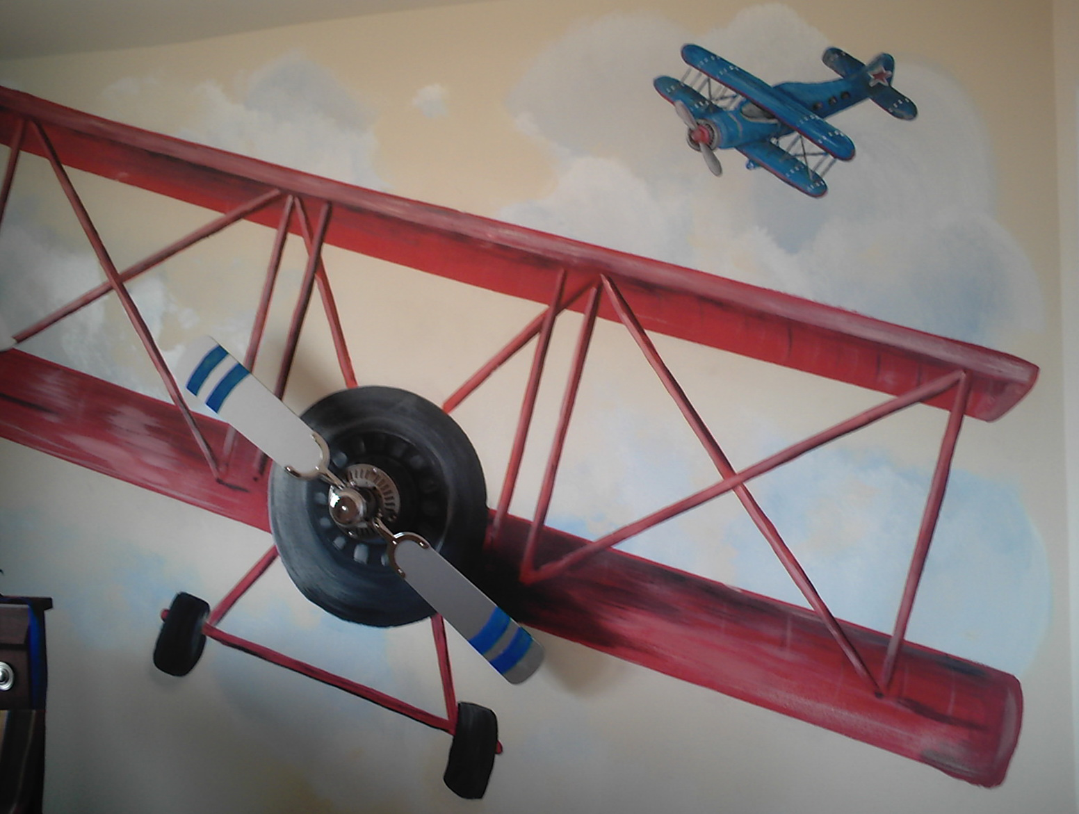 Airplane Wall Art For Kids