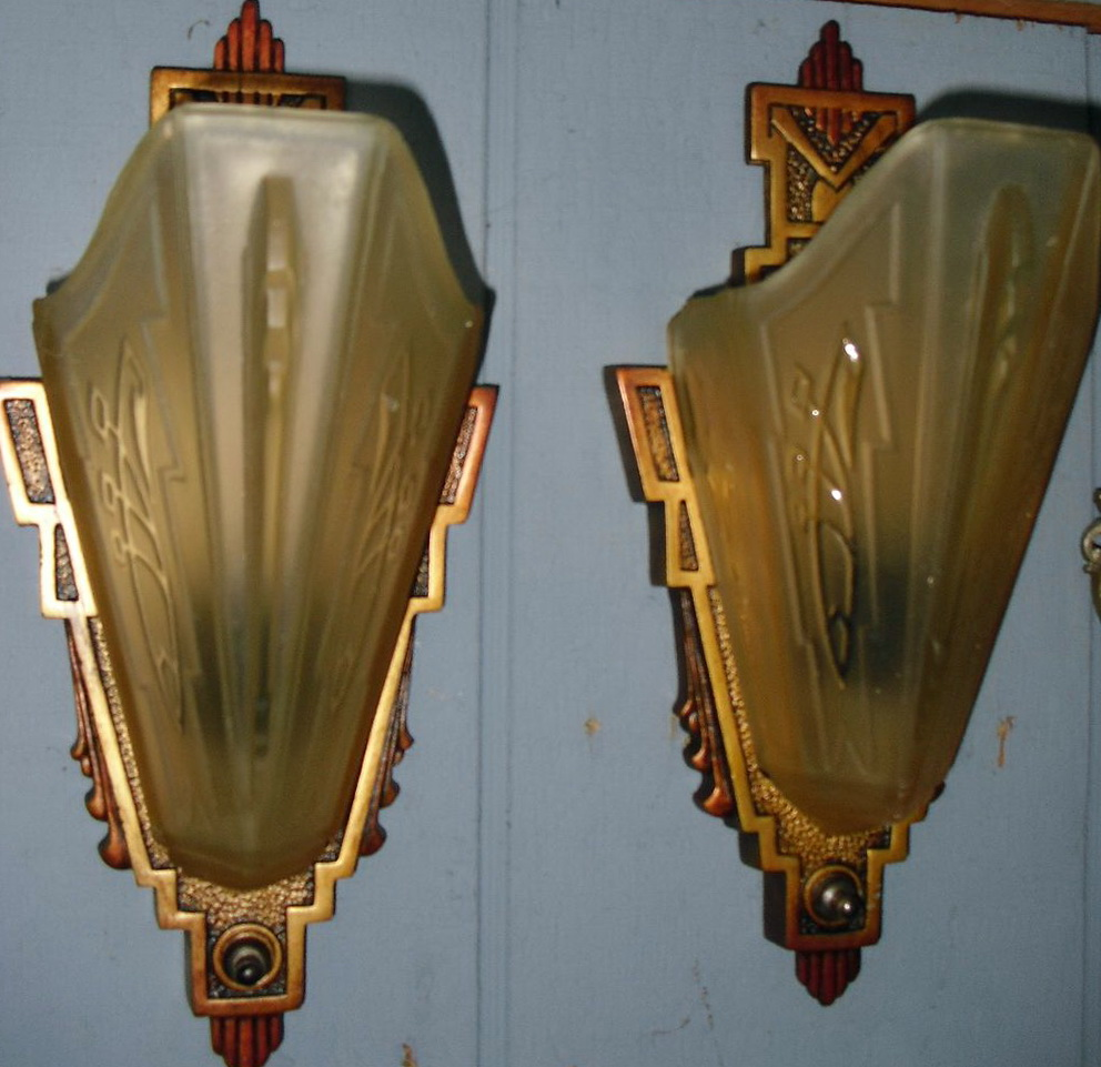 Art Deco Wall Sconces Reproductions