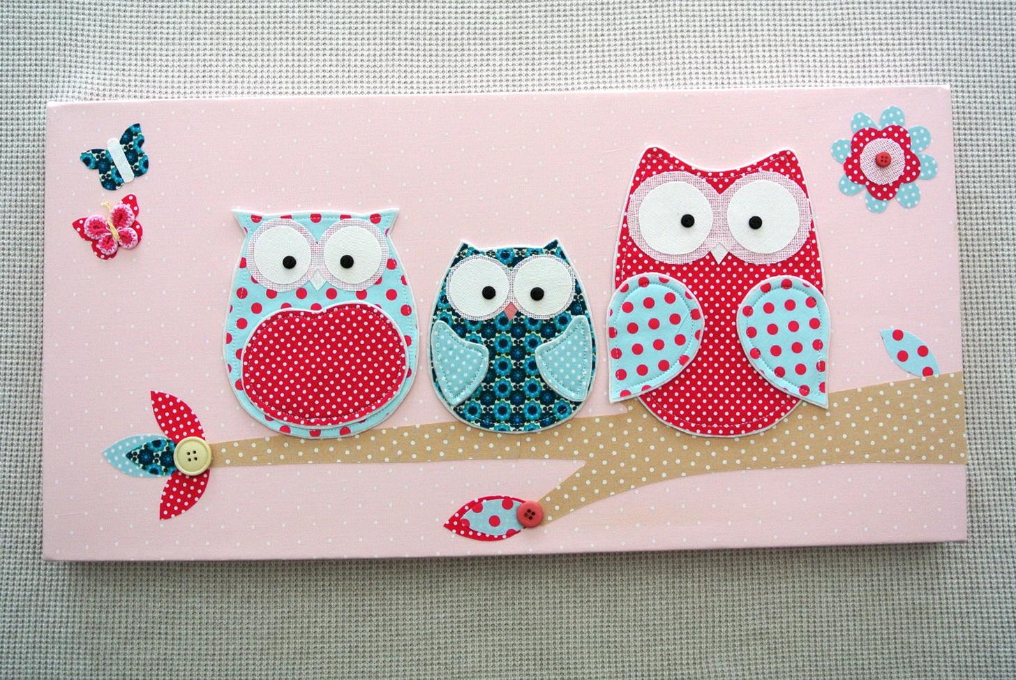 Baby Owl Wall Art