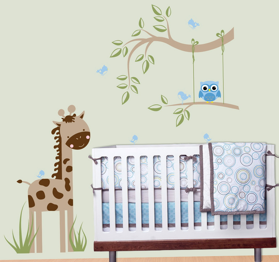 Baby Wall Art Stickers