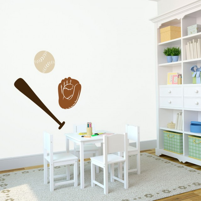 Baseball Wall Art Decals