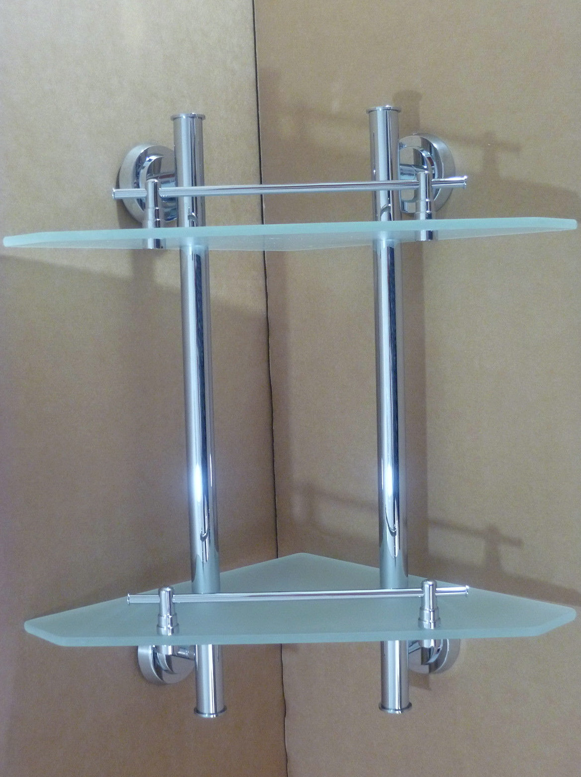 Bathroom Wall Corner Shelf Unit