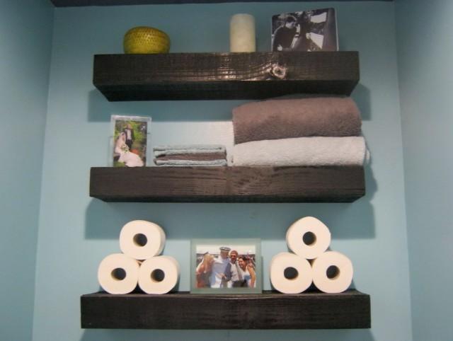 Bathroom Wall Shelf Ideas