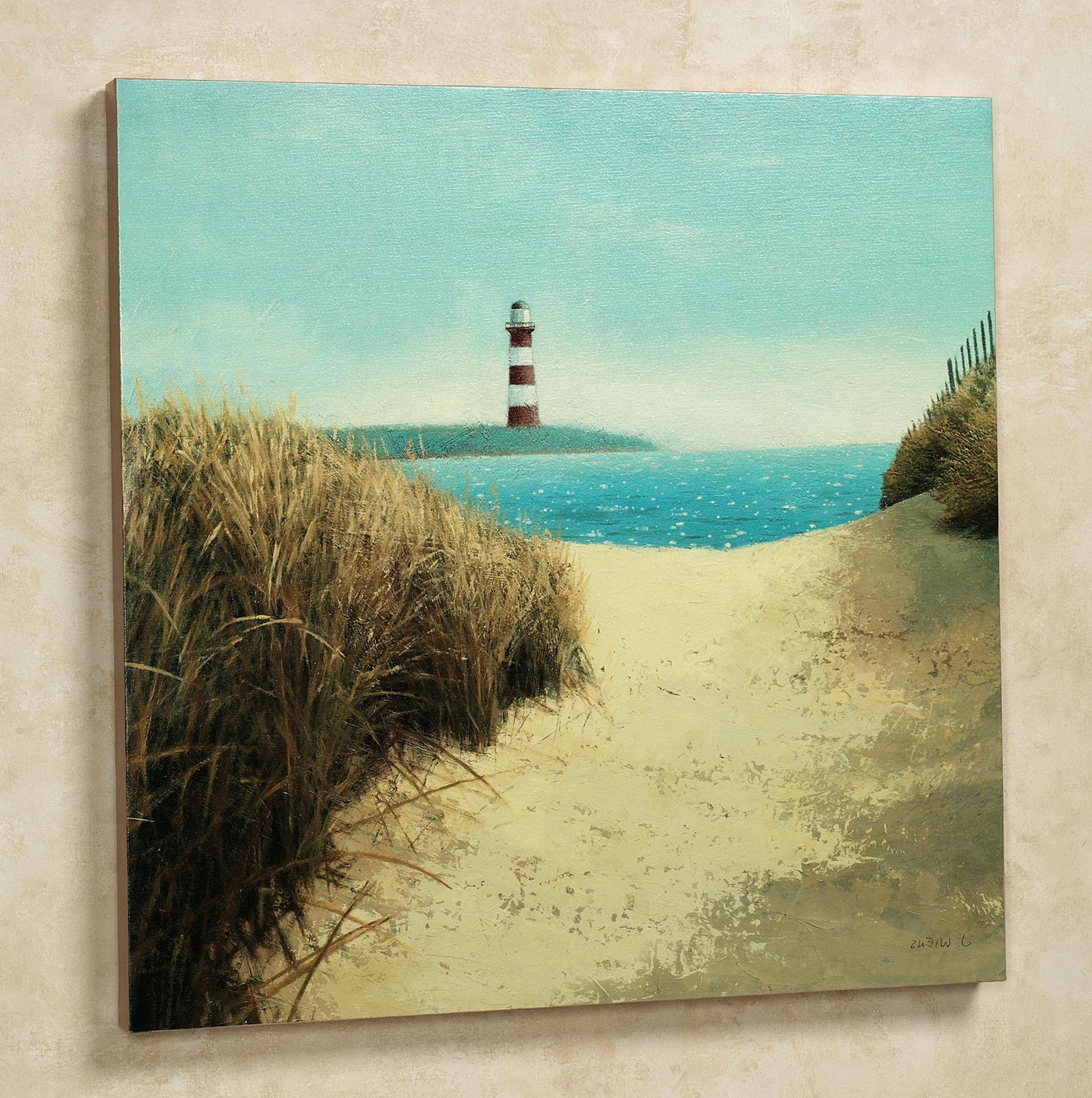 Beach Wall Art Canvas