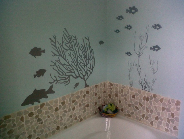 Beach Wall Art For Bathroom