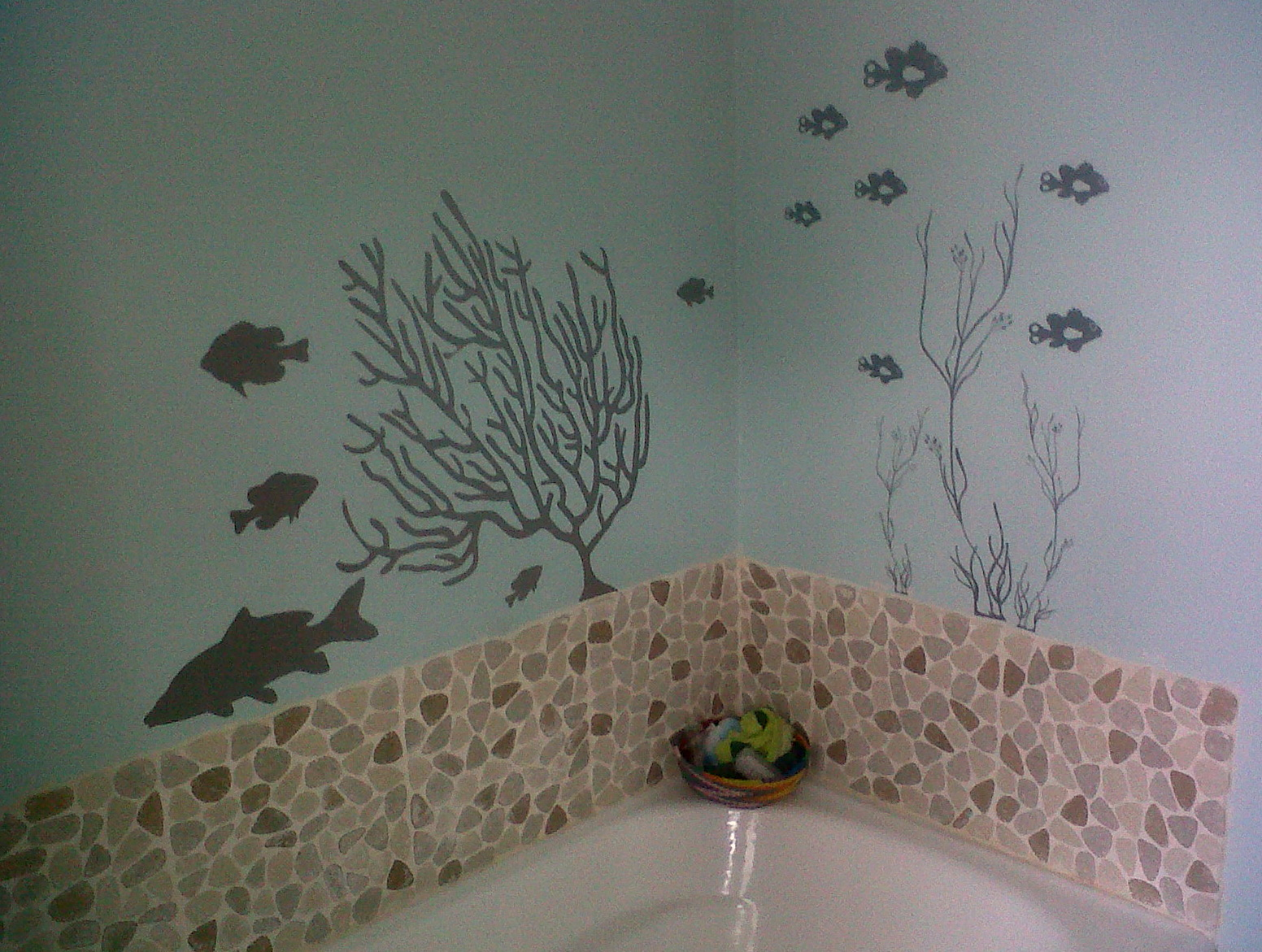 Beach Wall Art For Bathroom