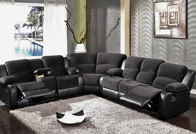 Best Sectional Sofa Recliners