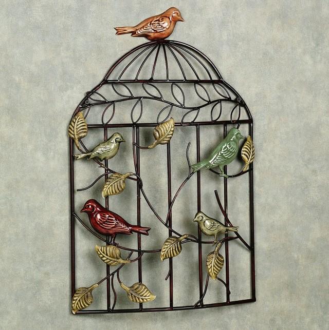 Bird Wall Art Metal