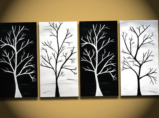 Black And White Wall Art Canvas