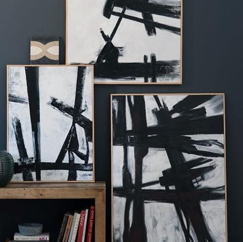 Black And White Wall Art Diy