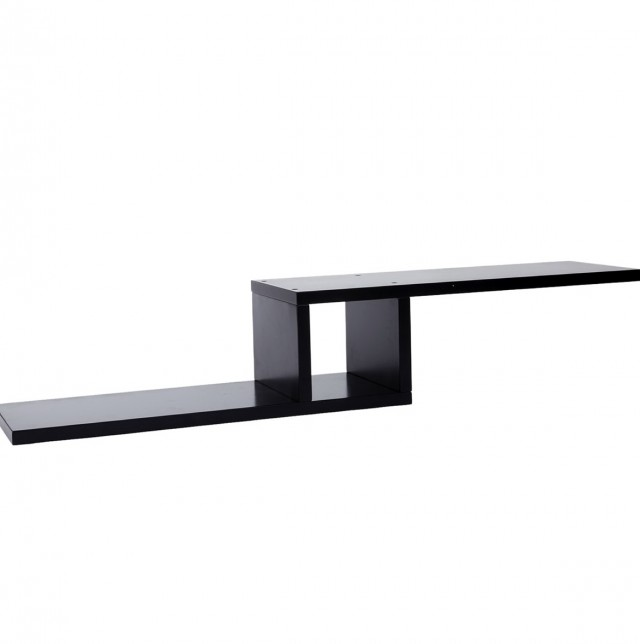 Black Wall Shelves