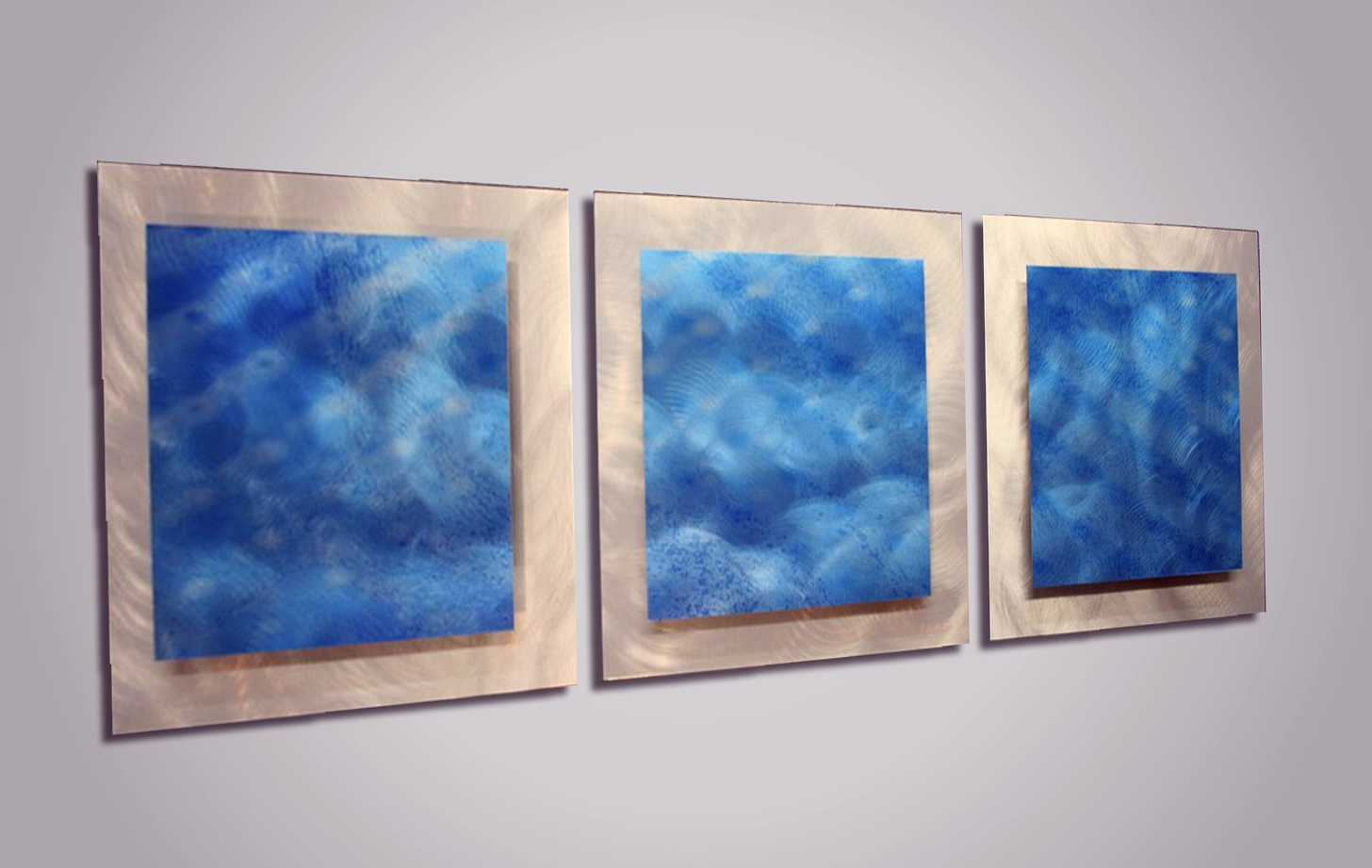 Blue Wall Art Decor