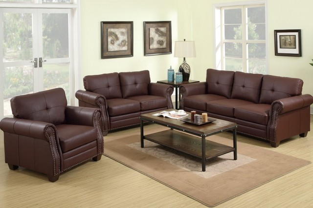 Brown Sofa And Loveseat Sets