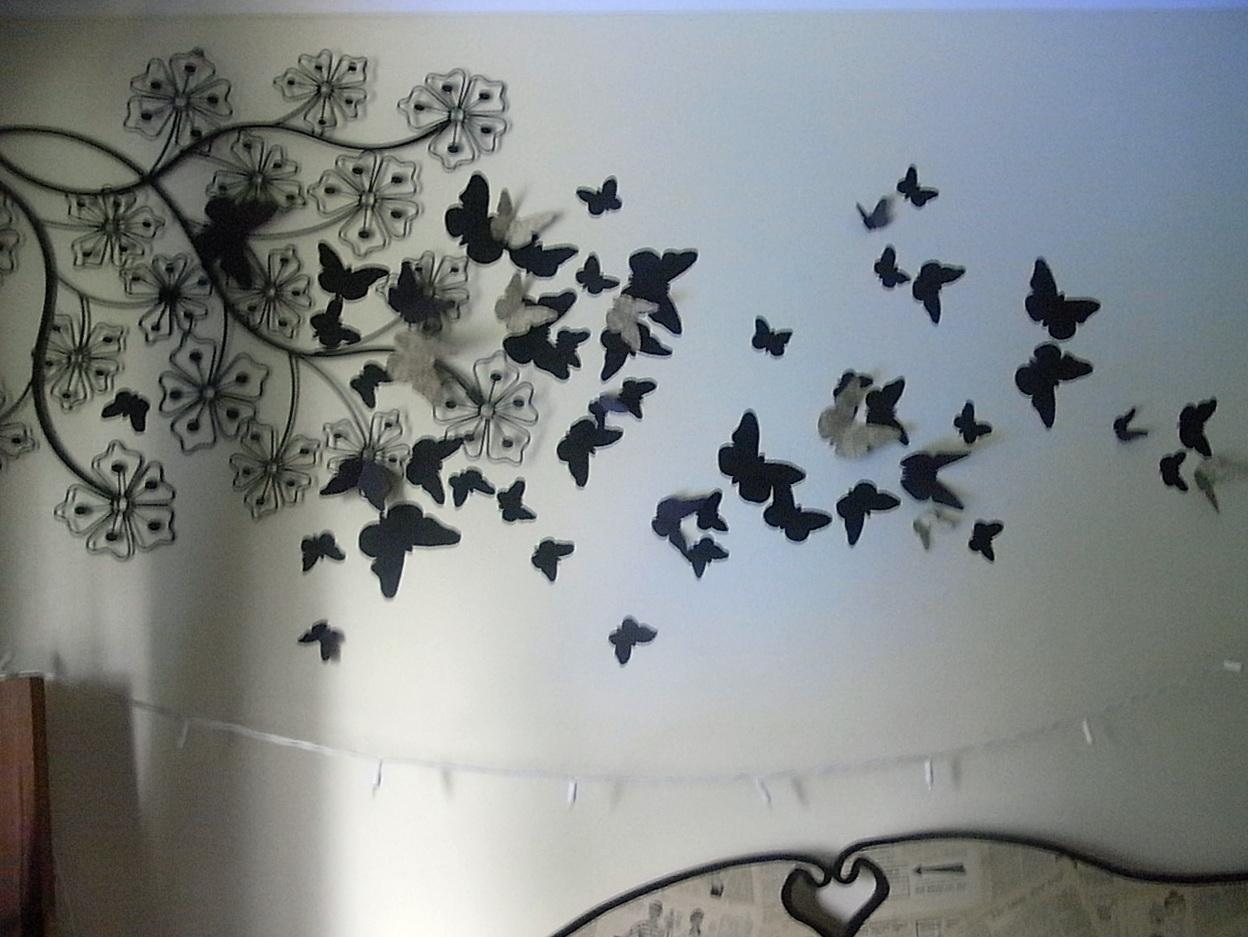 Butterfly Wall Art Diy