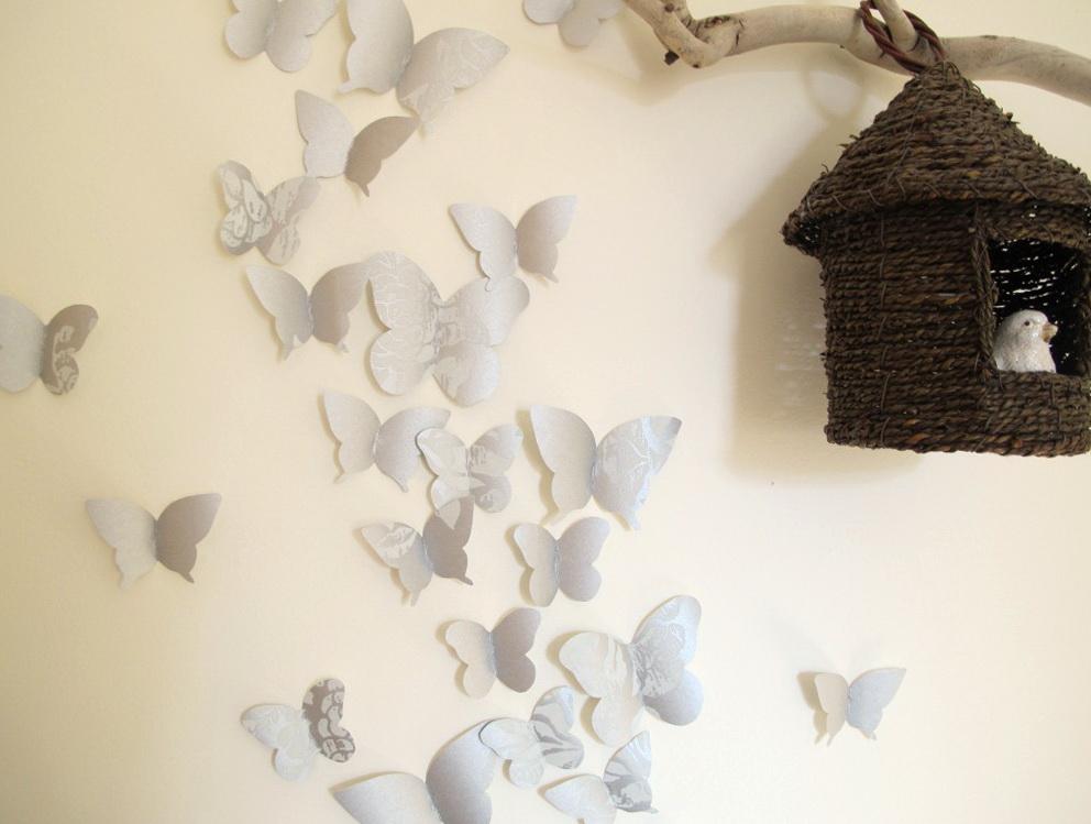 Butterfly Wall Art Template
