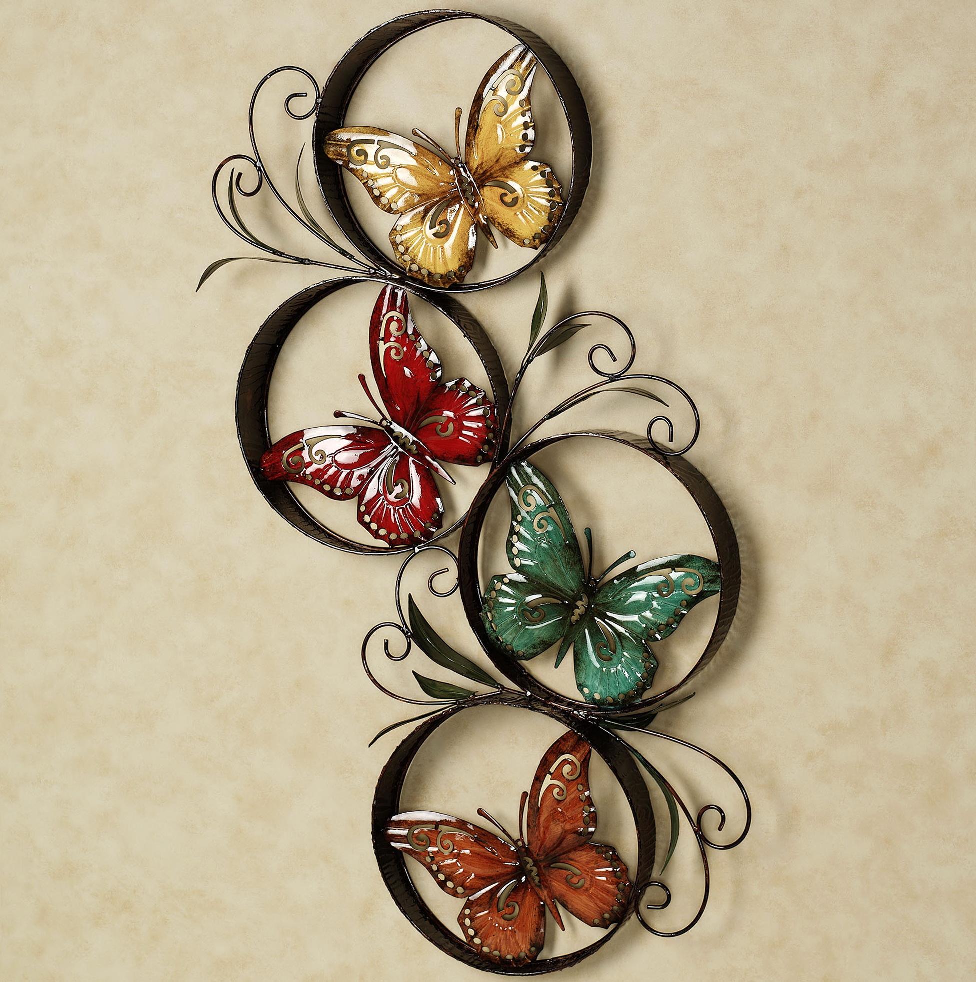 Butterfly Wall Metal Art