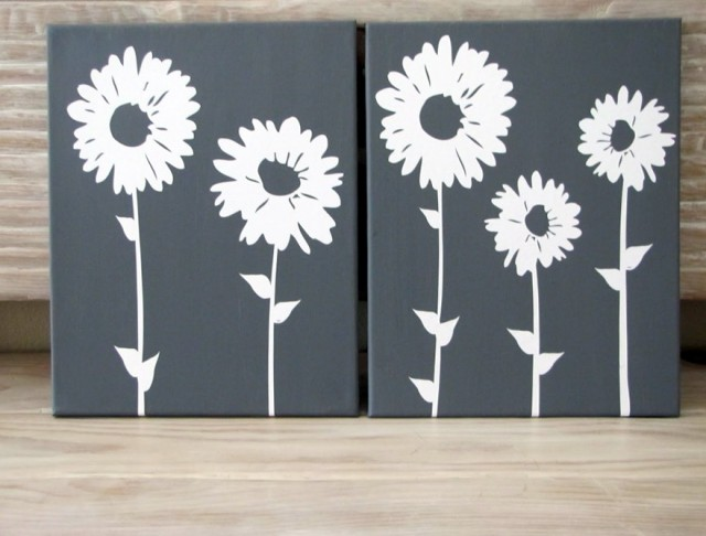 Canvas Wall Art Flowers