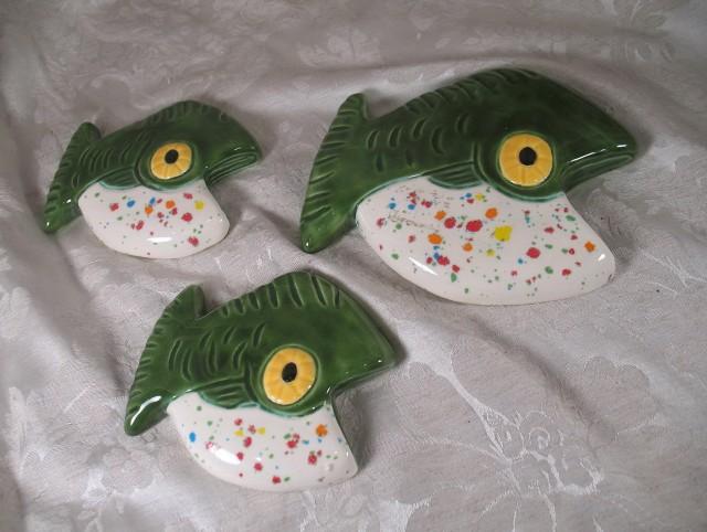 Ceramic Fish Wall Art