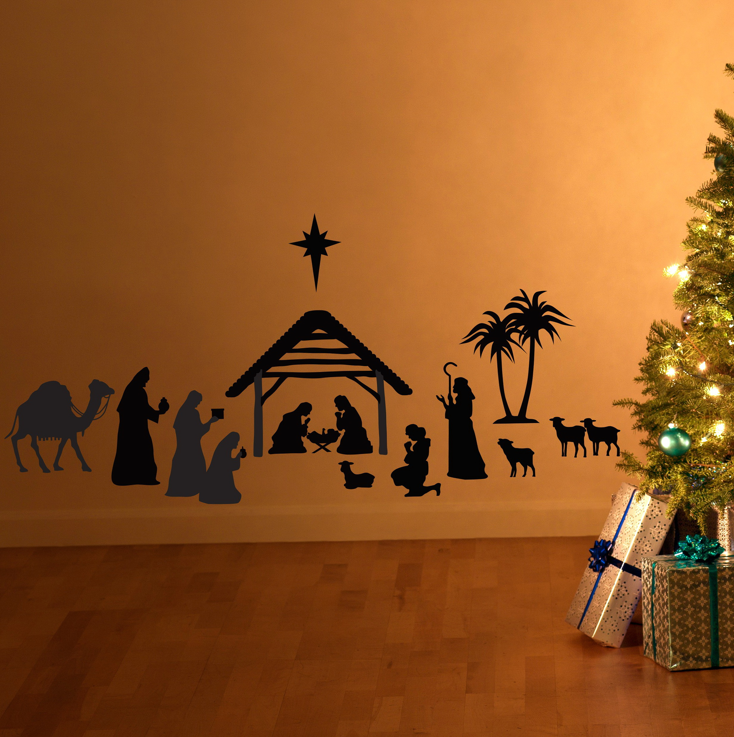 Christmas Wall Art Decals