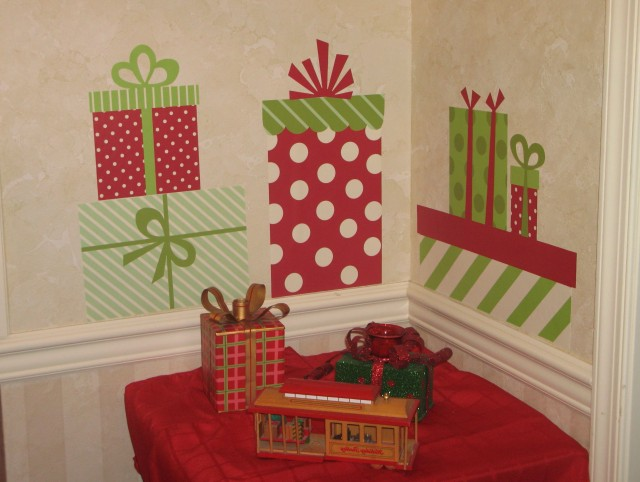 Christmas Wall Art Pinterest