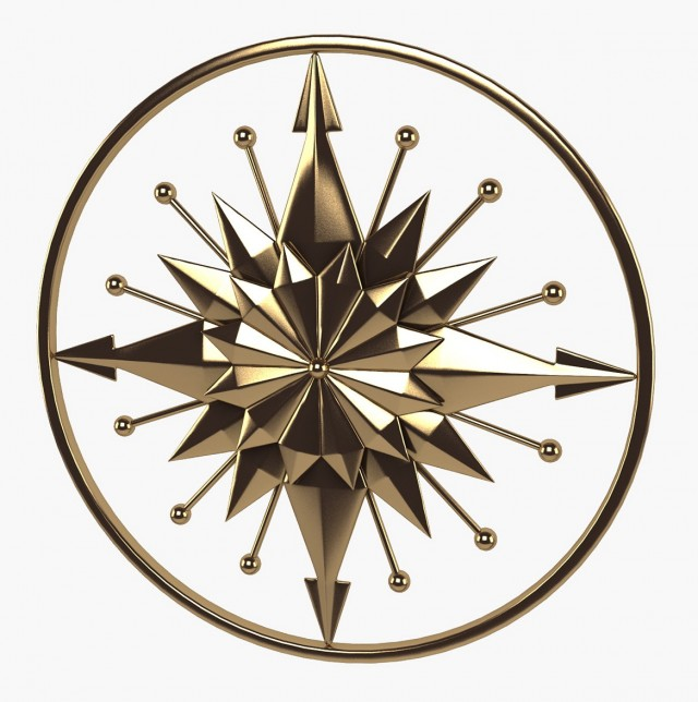 Compass Decorative Wall Art