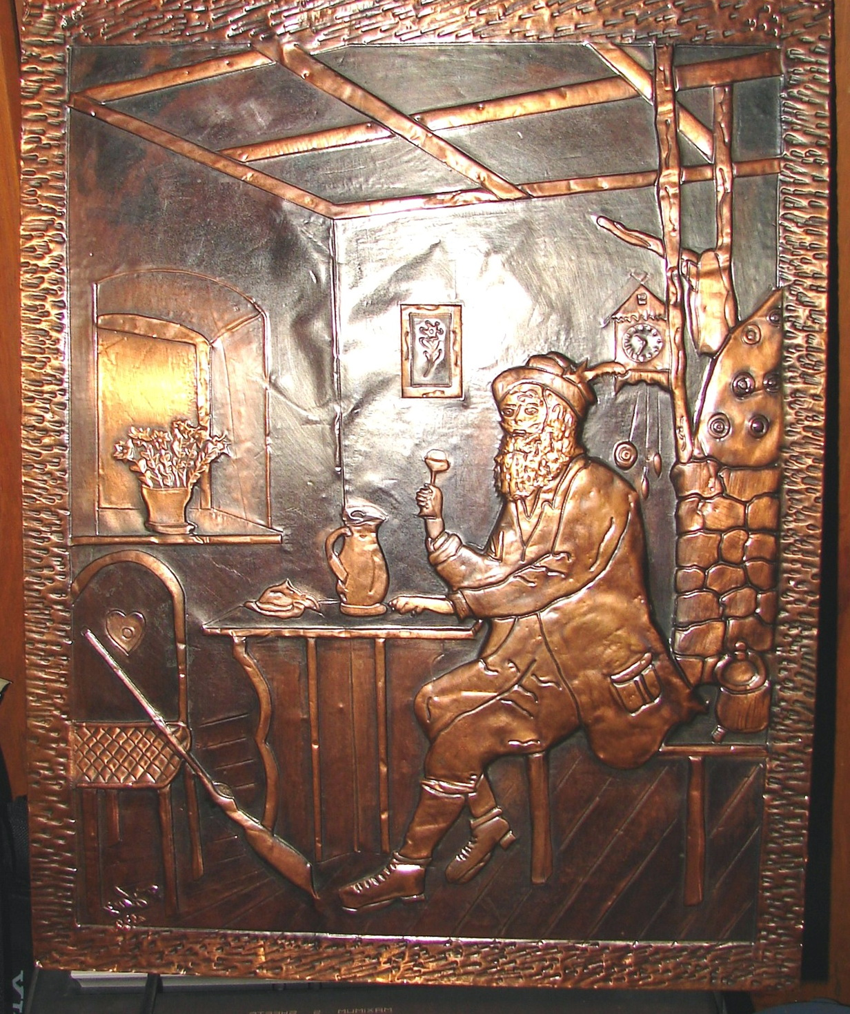 Copper Wall Artwork