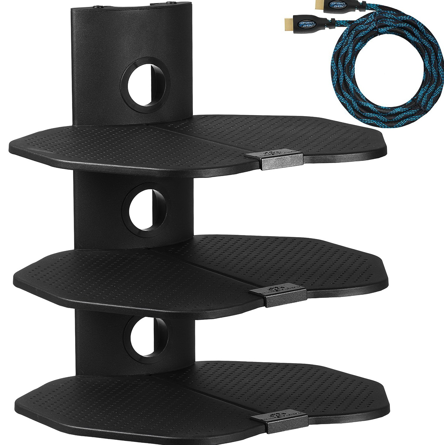 Corner Wall Mount Shelf For Cable Box