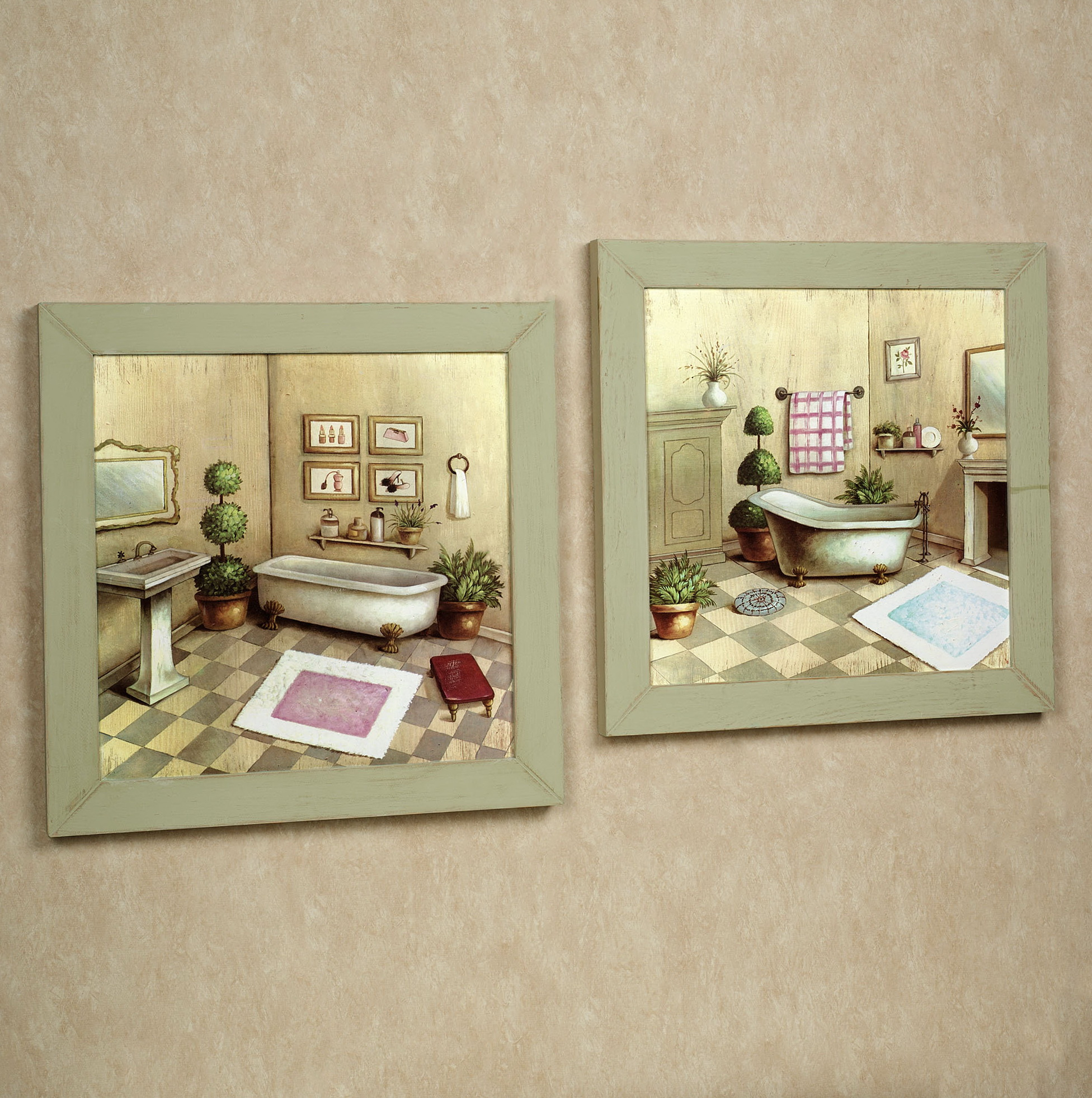 Country Wall Art For Bathroom