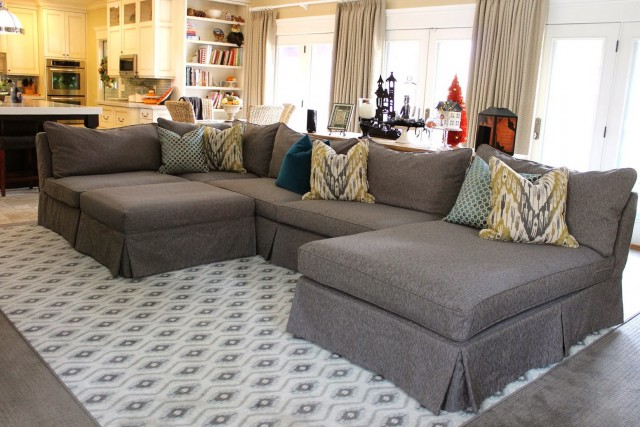 Custom Sectional Sofa Slipcovers