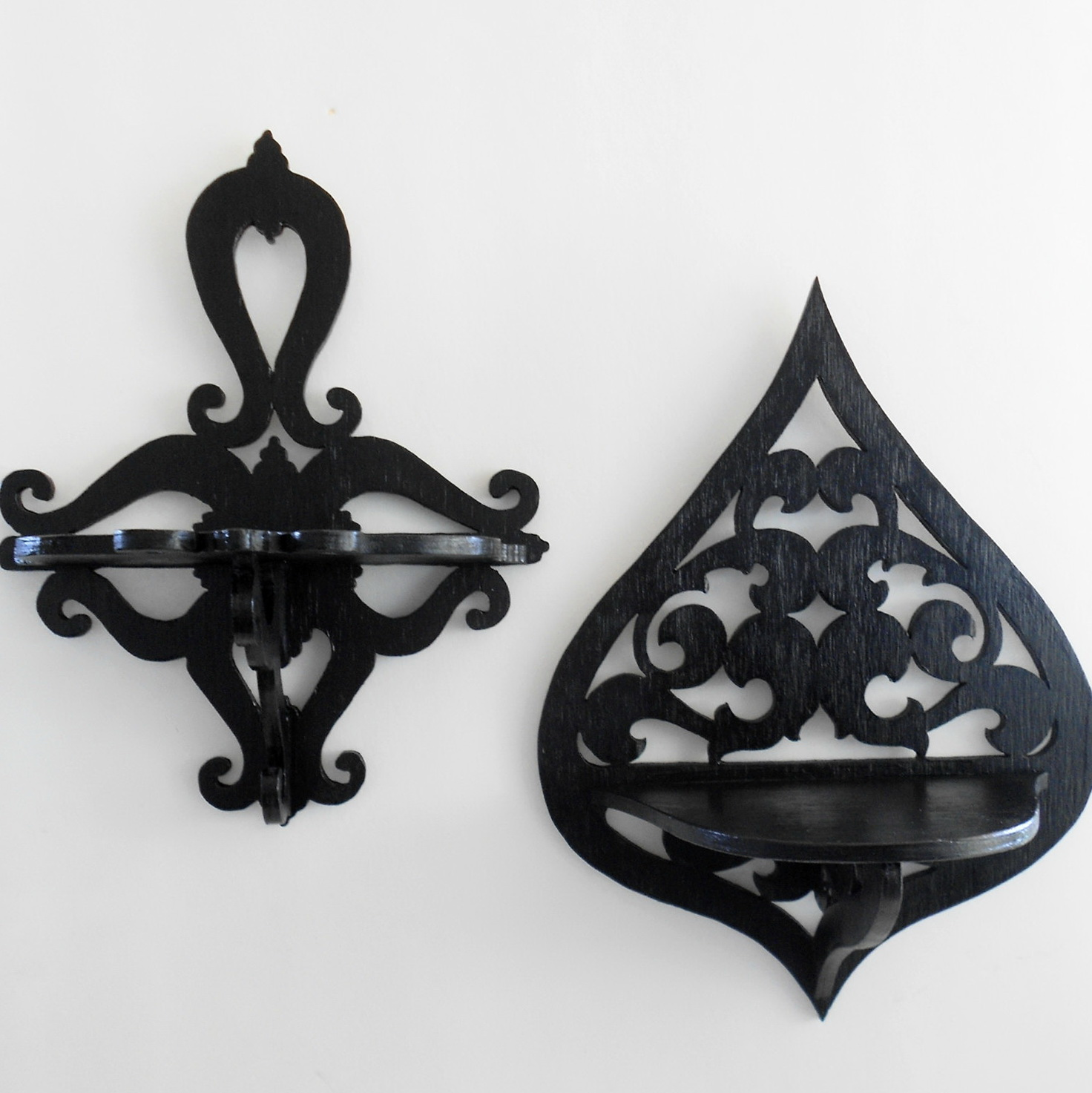 Decorative Wall Shelf Sconces