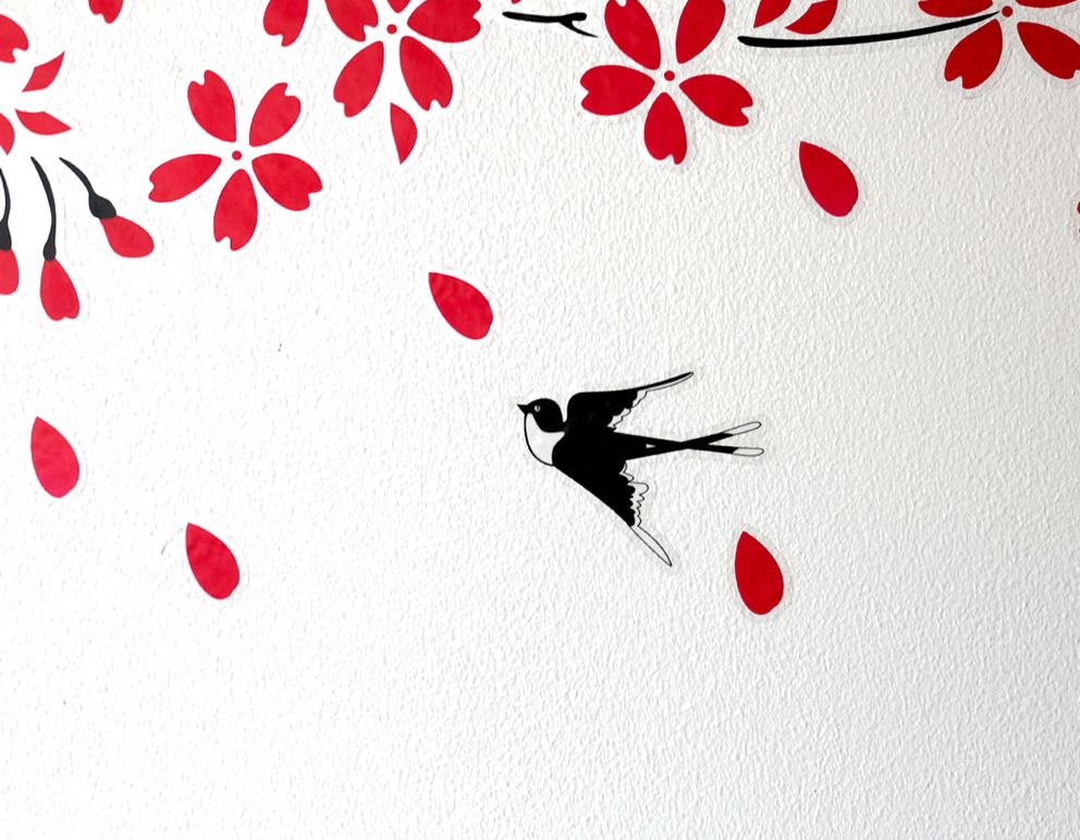 Diy Cherry Blossom Wall Art