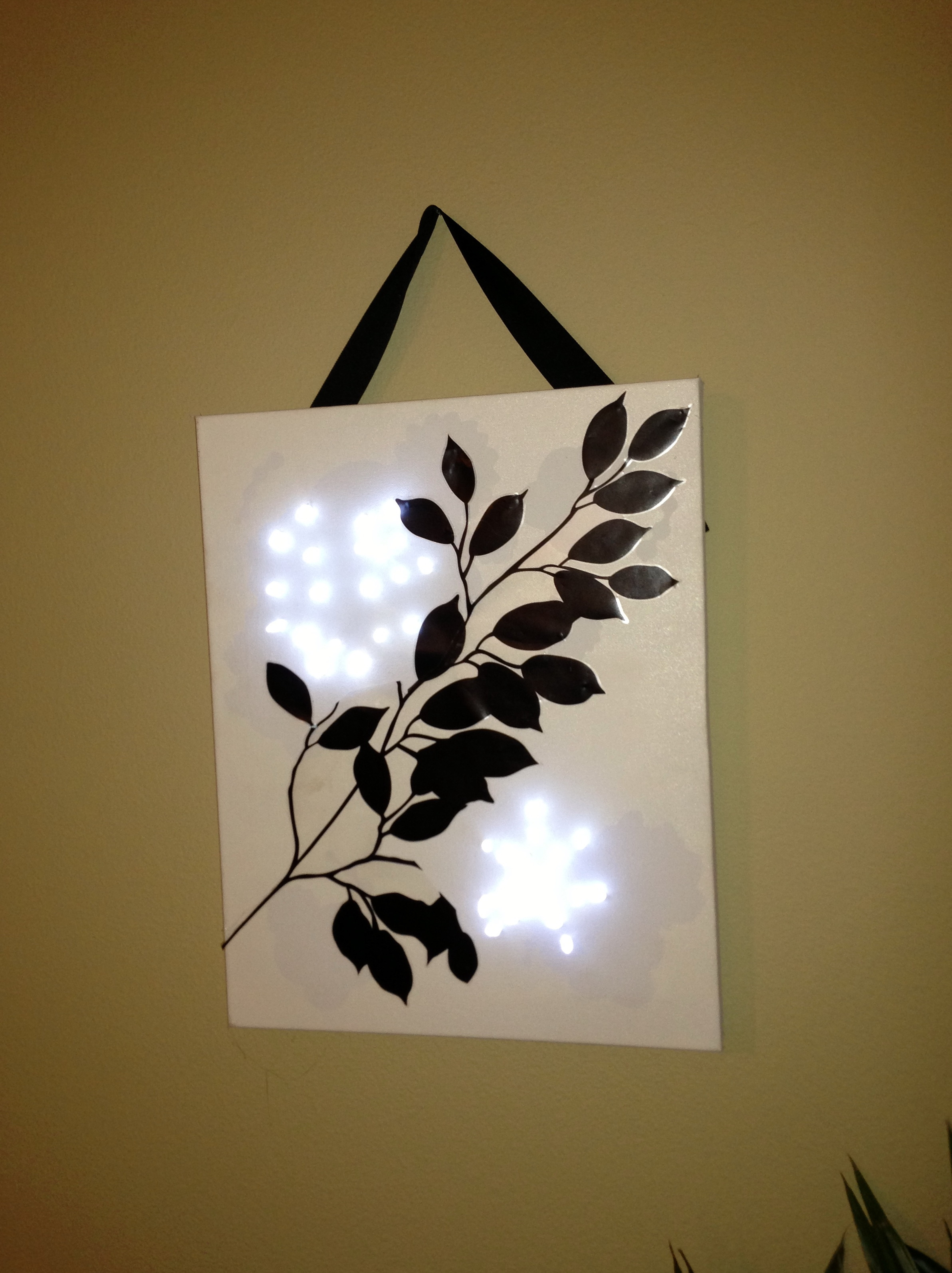 Diy Lighted Wall Art