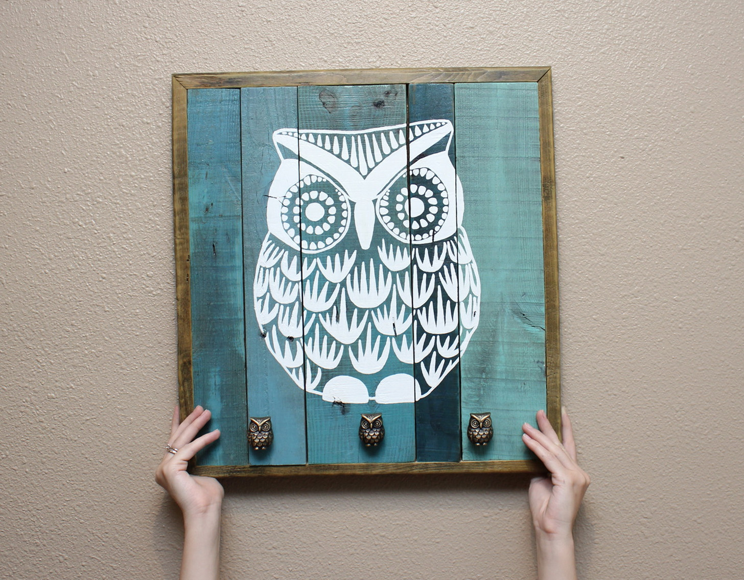 Diy Owl Wall Art