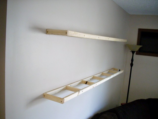 Diy Tv Wall Shelf