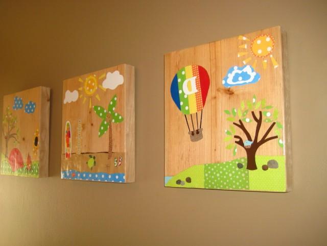 Diy Wall Art For Kids Rooms