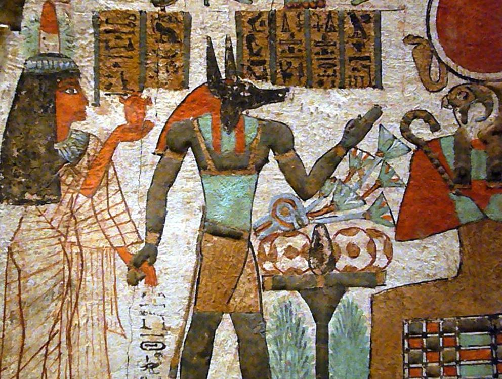 Egyptian Wall Art Drawing