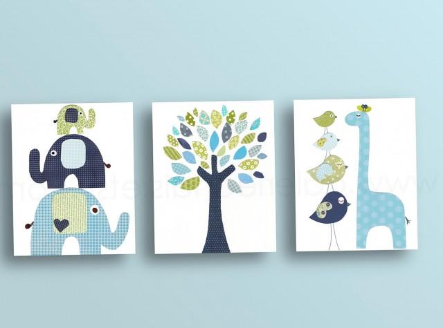 Elephant Wall Art Nursery