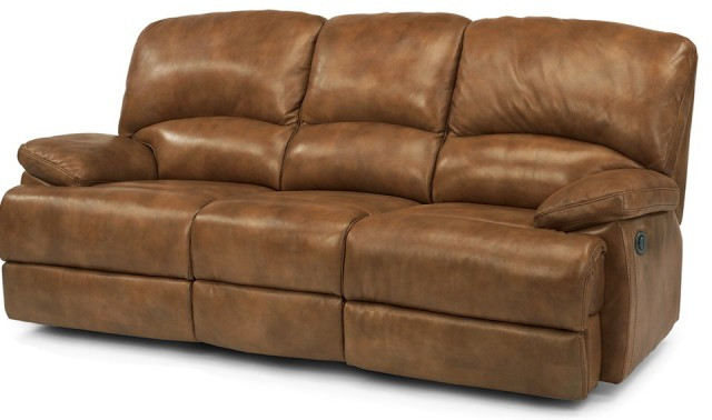 Flexsteel Leather Sofa Dylan