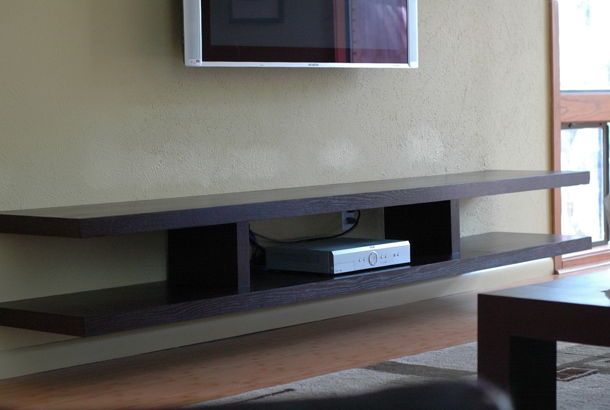 Floating Wall Shelf Tv
