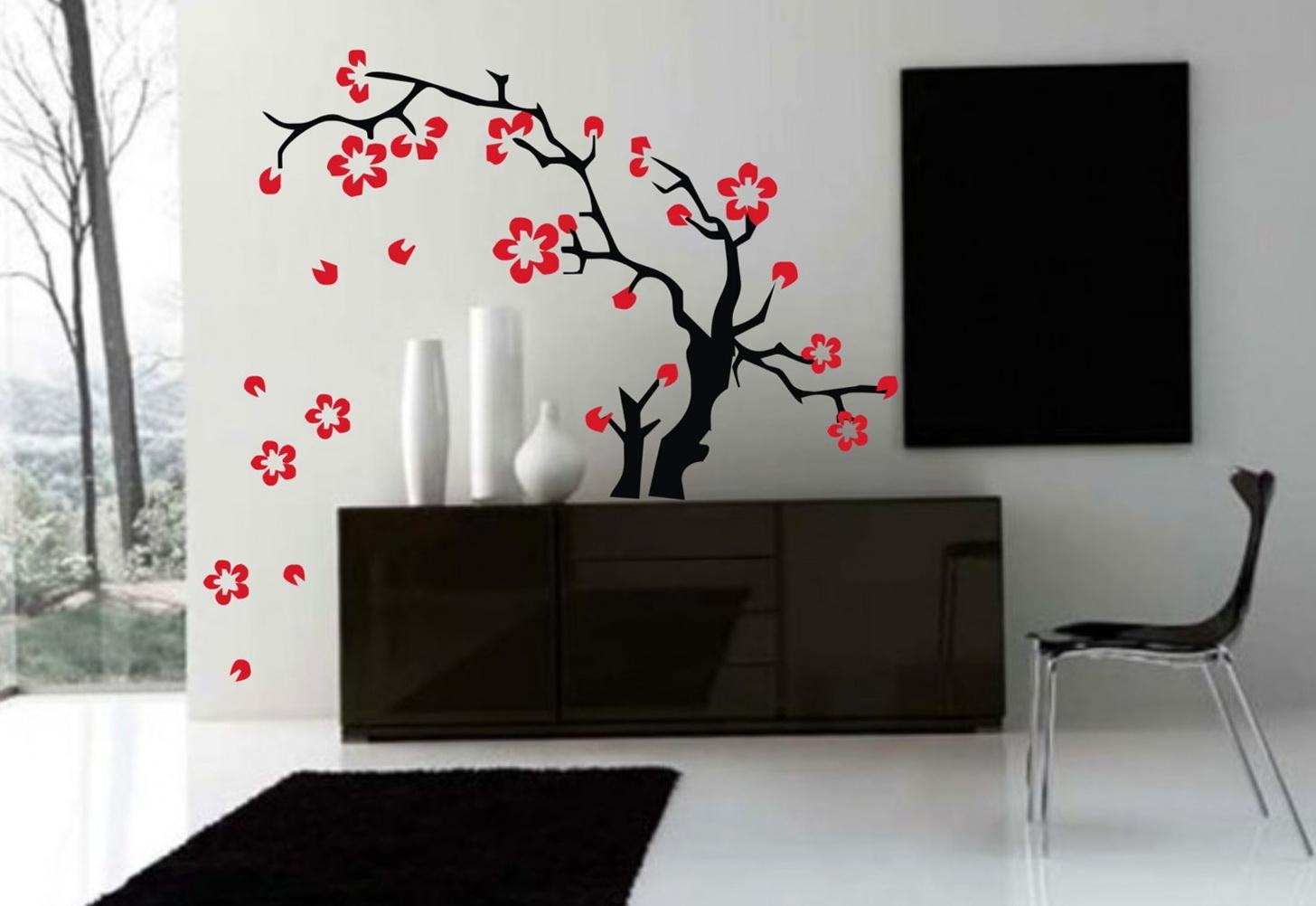 Flower Wall Art Stickers