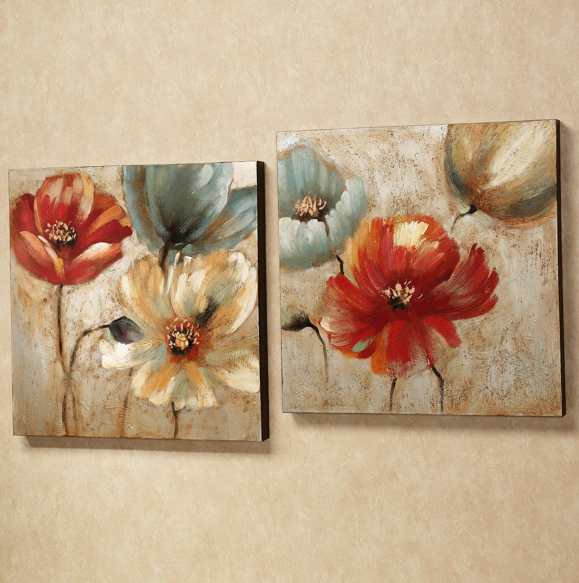 Flower Wall Canvas Art