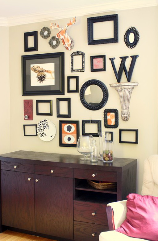Framed Wall Art Collage Ideas