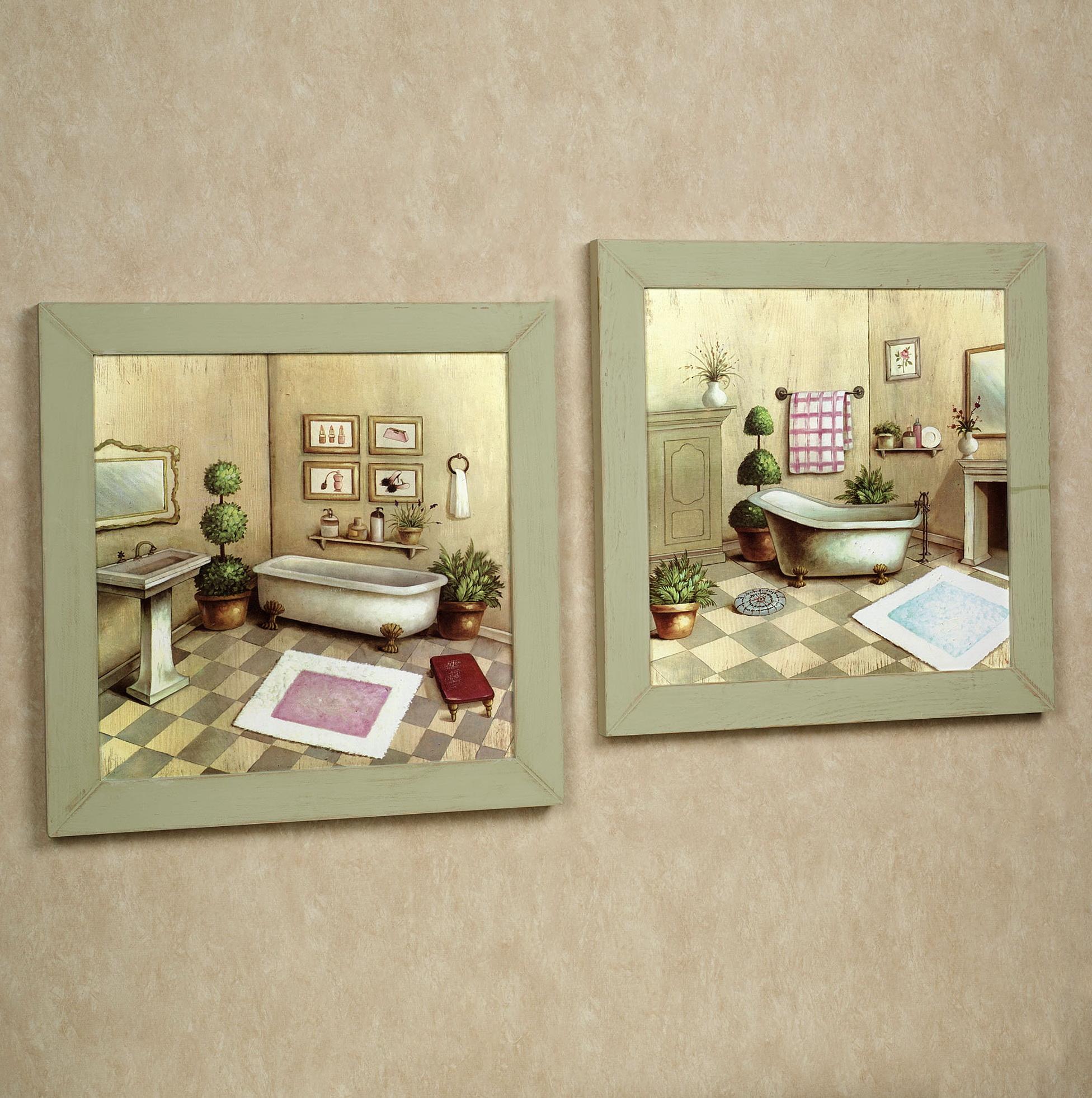 Framed Wall Art For Bathrooms