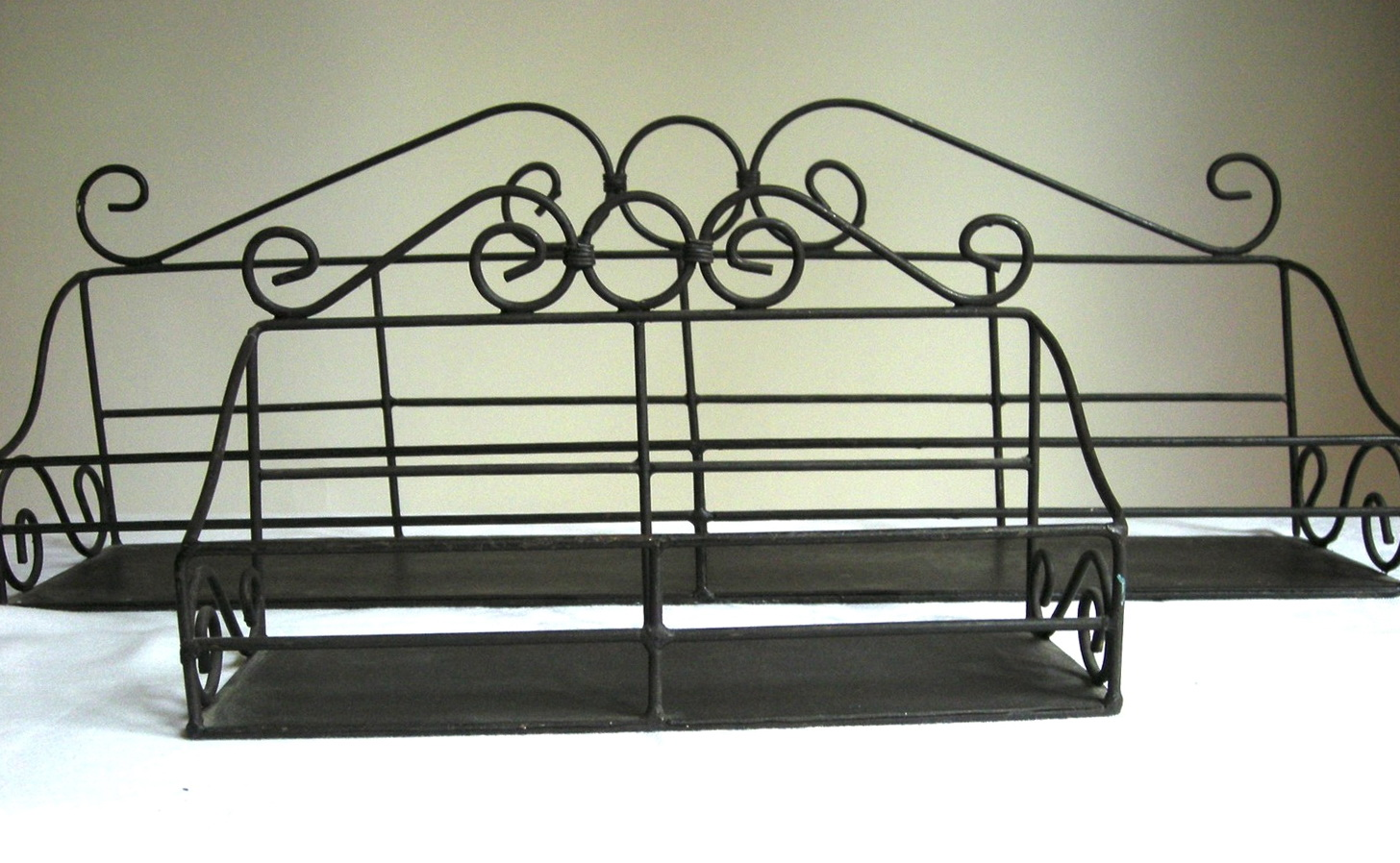 French Wire Wall Shelf